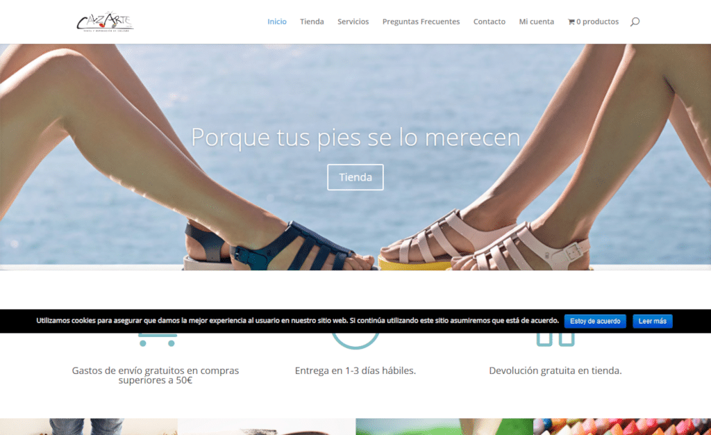 Tienda online de Calzartesania