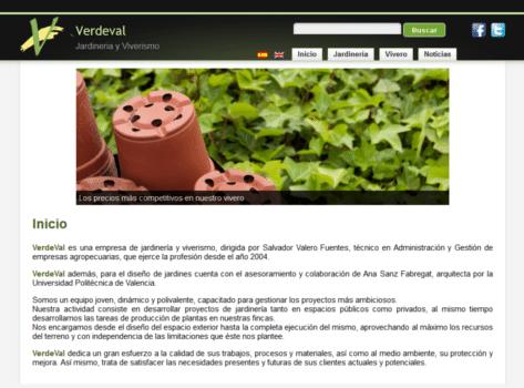 Página Web de Verdeval